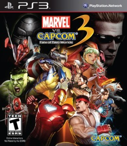 Capa Marvel Vs Capcom 3