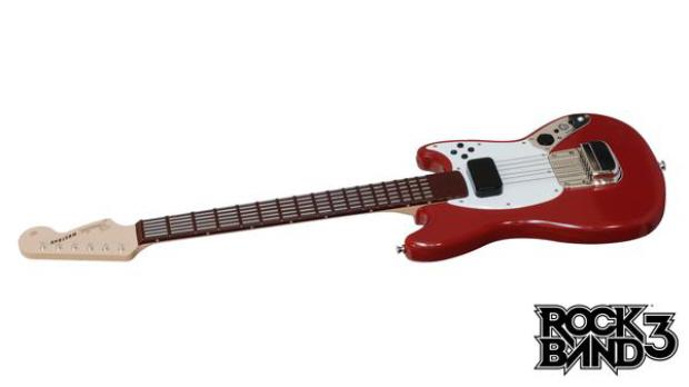 Da outra você pode ter a bateria do rock band e jogar guitar hero