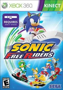 Sonic Free Riders (Kinect) - 57 reais