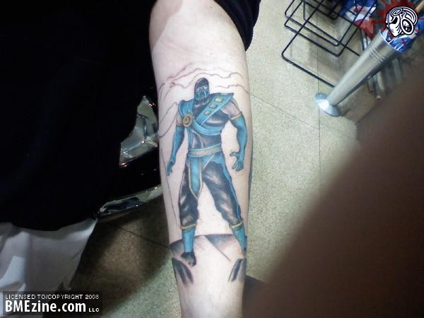 Scorpion Mortal Kombat Deception Tattoo