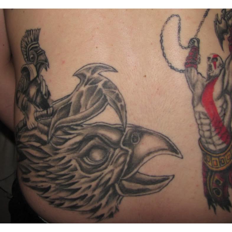 Kratos God War Tattoos God-of-war-kratos-jump_786x786