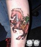 tatuagem-jogo-Zelda-Cavalo-nerd
