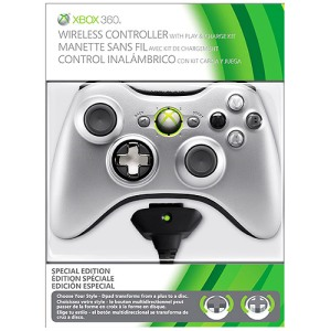Controle Xbox 360 mais Kit de carregar